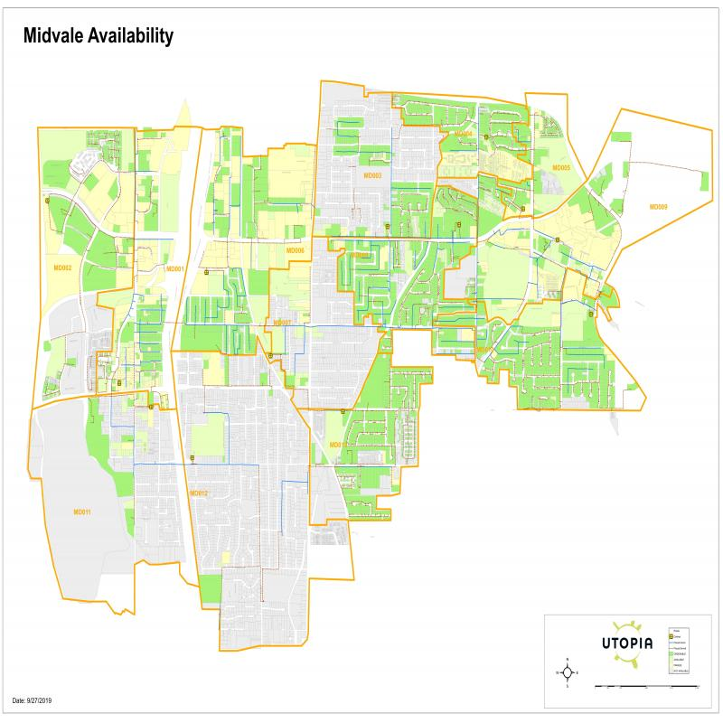 Midvale Availability Map