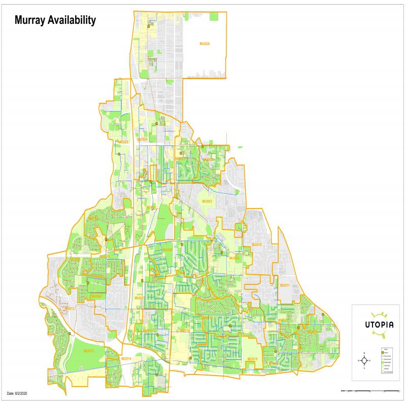 Murray Availability Map