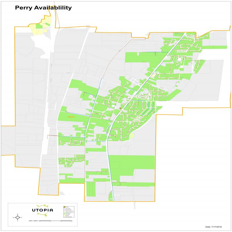 Perry Availability Map