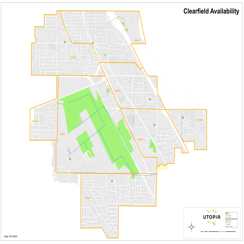 Clearfield Availability Map